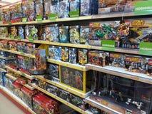 Brinquedos de Lego Fotos de Stock