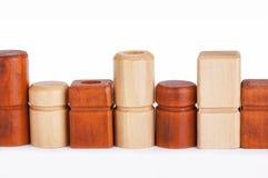 Brinquedos de madeira Fotografia de Stock