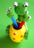 Brinquedos de madeira fotografia de stock royalty free