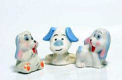 Brinquedos do ‹do †do ‹do †do cão Fotos de Stock Royalty Free