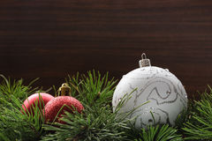 Brinquedos do ano novo Imagens de Stock Royalty Free