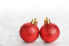 Brinquedos do ano novo ou do Natal Imagens de Stock