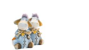 Brinquedos do banco do asno Imagem de Stock Royalty Free