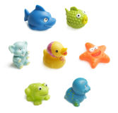 Brinquedos do banho Imagens de Stock