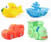 Brinquedos do banho Fotos de Stock