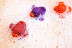 Brinquedos do banho Foto de Stock Royalty Free