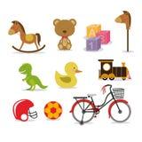 Brinquedos do bebê Foto de Stock Royalty Free