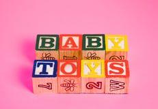 Brinquedos do bebê Imagem de Stock Royalty Free