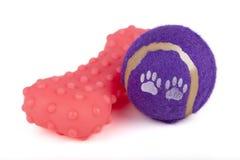 Brinquedos do cão Imagens de Stock Royalty Free