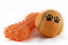 Brinquedos do cão Foto de Stock