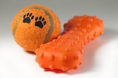 Brinquedos do cão Foto de Stock Royalty Free