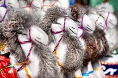 Brinquedos do camelo imagem de stock