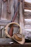 Brinquedos do cowboy Fotos de Stock