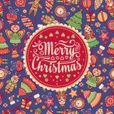 Brinquedos do Feliz Natal ano novo feliz 2007 Fotos de Stock Royalty Free