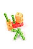 Brinquedos do jardim de infância das crianças Fotos de Stock