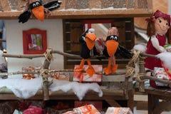 Brinquedos do luxuoso do Natal na Olympia do shopping Imagem de Stock Royalty Free