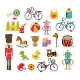 Brinquedos do menino Fotos de Stock Royalty Free