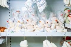 Brinquedos do Natal fotos de stock royalty free