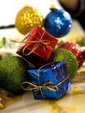Brinquedos do Natal Fotos de Stock