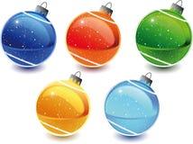 Brinquedos do Natal Imagem de Stock Royalty Free