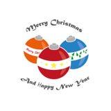 Brinquedos do Natal no estilo do vintage Brinquedos para Foto de Stock Royalty Free
