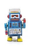 Brinquedos do robô Fotos de Stock Royalty Free