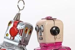 brinquedos do robô Imagem de Stock