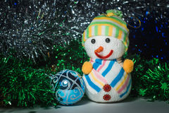 Brinquedos do ` s do ano novo Fotografia de Stock