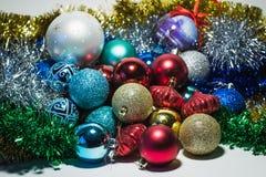 Brinquedos do ` s do ano novo Imagens de Stock Royalty Free