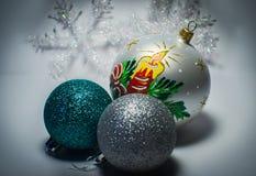 Brinquedos do ` s do ano novo Fotos de Stock