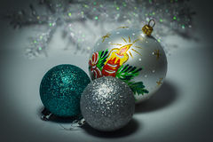Brinquedos do ` s do ano novo Imagem de Stock Royalty Free