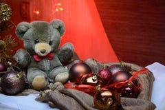 Brinquedos do ` s do ano novo Foto de Stock Royalty Free