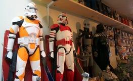 Brinquedos do soldado do clone de Star Wars Fotografia de Stock