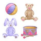 Brinquedos doces ilustração stock