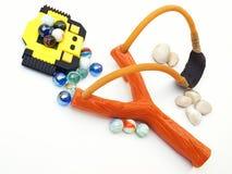 Brinquedos dos meninos Fotografia de Stock