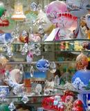 Brinquedos e decorações fotografia de stock