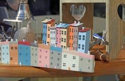 Brinquedos e loja de lembranças do beira-mar Fotografia de Stock Royalty Free