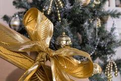 Brinquedos e texturas do Natal Fotos de Stock