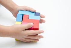 Brinquedos educacionais para crianças espertas Fotografia de Stock Royalty Free