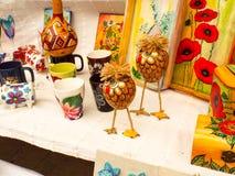 Brinquedos feitos a mão Imagem de Stock Royalty Free
