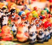 Brinquedos feitos a mão Foto de Stock