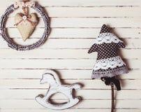 Brinquedos gastos do Natal imagem de stock royalty free