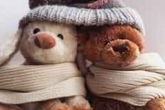 Brinquedos macios Imagens de Stock