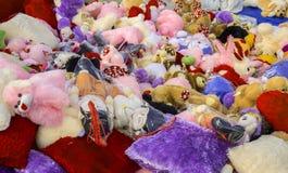 Brinquedos macios Fotografia de Stock Royalty Free
