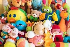 Brinquedos macios Foto de Stock