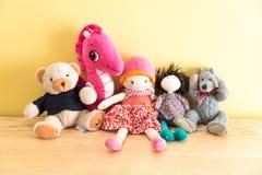 Brinquedos macios Imagem de Stock