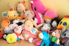 Brinquedos macios Fotos de Stock