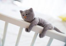 Brinquedos macios bonitos do bebê Foto de Stock