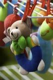 Brinquedos macios do bebê Fotografia de Stock