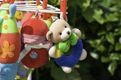 Brinquedos macios do bebê Fotos de Stock